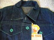 Продам новое платье джинсовое детское