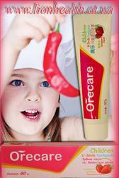 Детская зубная паста «Улыбка»
