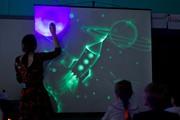 Экран для рисования светом в темноте (экран для шоу световых картин)