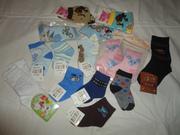 Носочки детские новые размер на 1 - 6 лет